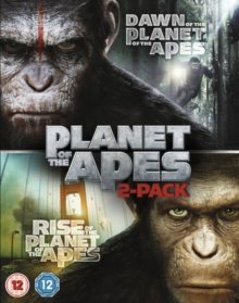 Rise of the Planet of the Apes/Dawn of the Planet of the Apes, Blu-ray BluRay