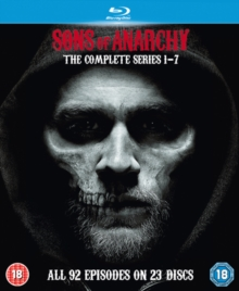 Sons of Anarchy: Complete Seasons 1-7, Blu-ray  BluRay
