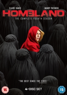 Homeland: The Complete Fourth Season, DVD DVD