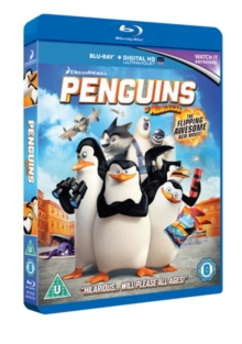 Penguins of Madagascar, Blu-ray  BluRay
