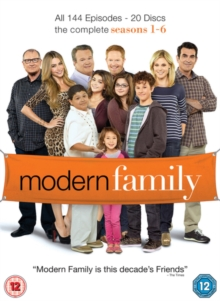 Modern Family: The Complete Seasons 1-6, DVD DVD