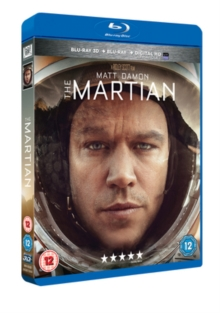 The Martian, Blu-ray BluRay