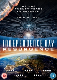 Independence Day: Resurgence, DVD DVD