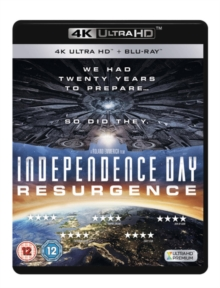 Independence Day: Resurgence, Blu-ray BluRay