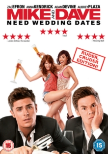 Mike & Dave Need Wedding Dates, DVD DVD
