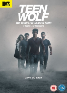 Teen Wolf: The Complete Season Four, DVD DVD