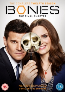 Bones: The Complete Twelfth Season - The Final Chapter, DVD DVD