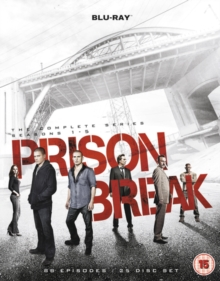 Prison Break: The Complete Series - Seasons 1-5, Blu-ray BluRay