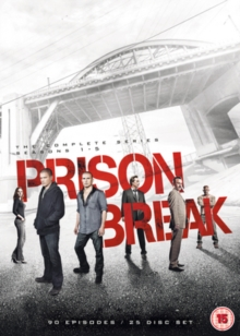 Prison Break: The Complete Series - Seasons 1-5, DVD DVD