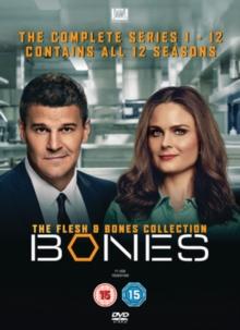 Bones: The Flesh & Bones Collection - The Complete Series 1-12, DVD DVD