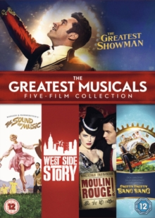 The Greatest Musicals: Five Film Collection, DVD DVD