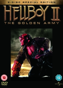 Hellboy 2 - The Golden Army, DVD  DVD