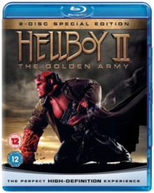 Hellboy 2 - The Golden Army, Blu-ray  BluRay