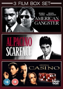 American Gangster/Scarface/Casino, DVD  DVD