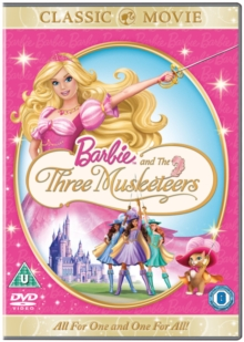 Barbie and the Three Musketeers, DVD  DVD