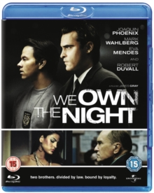 We Own the Night, Blu-ray  BluRay