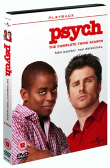 Psych: The Complete Third Season, DVD DVD