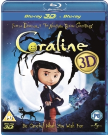 Coraline, Blu-ray  BluRay