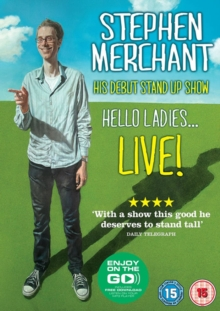 Stephen Merchant: Hello Ladies - Live 2011, DVD  DVD