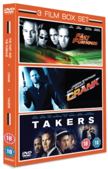 Takers/Crank/The Fast and the Furious, DVD  DVD