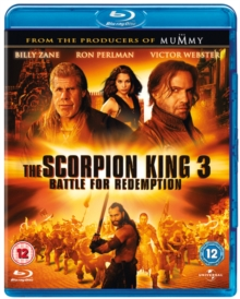 The Scorpion King 3 - Battle for Redemption, Blu-ray BluRay