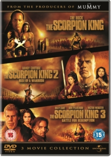 The Scorpion King/The Scorpion King 2 - Rise of a Warrior/The..., DVD DVD