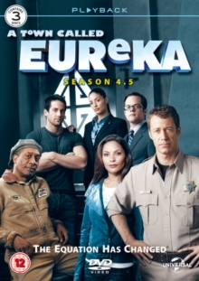A   Town Called Eureka: Season 4.5, DVD DVD