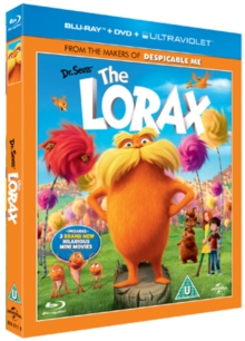 The Lorax, Blu-ray BluRay