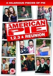 American Pie/American Pie 2/American Pie: The Wedding/American..., DVD  DVD