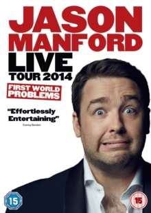Jason Manford: First World Problems, DVD  DVD
