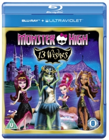 Monster High: 13 Wishes, Blu-ray  BluRay