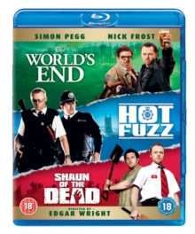 Shaun of the Dead/Hot Fuzz/The World's End, Blu-ray BluRay