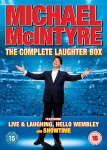 Michael McIntyre: Live and Laughing/Hello Wembley/Showtime, DVD  DVD