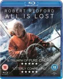 All Is Lost, Blu-ray  BluRay