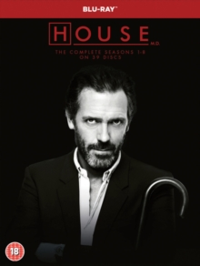 House: The Complete Seasons 1-8, Blu-ray BluRay