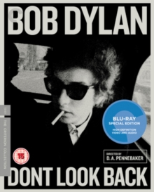 Bob Dylan: Don't Look Back - The Criterion Collection, Blu-ray BluRay