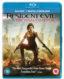 Resident Evil: The Final Chapter, Blu-ray BluRay