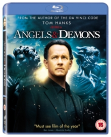 Angels and Demons, Blu-ray  BluRay