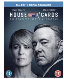 House of Cards: Seasons 1-5, Blu-ray BluRay