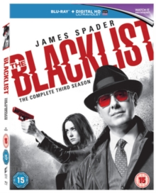 The Blacklist: The Complete Third Season, Blu-ray BluRay