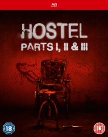 Hostel 1-3, Blu-ray BluRay