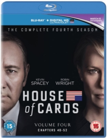 House of Cards: The Complete Fourth Season, Blu-ray BluRay