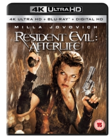 Resident Evil: Afterlife, Blu-ray BluRay