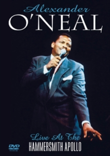 Alexander O'Neal: Live at the Hammersmith Apollo, DVD  DVD
