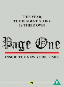 Page One - Inside the New York Times, DVD  DVD