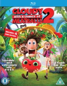 Cloudy With a Chance of Meatballs 2, Blu-ray  BluRay