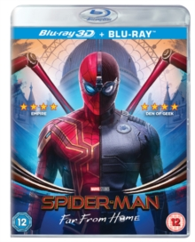 Spider-Man: Far from Home, Blu-ray BluRay