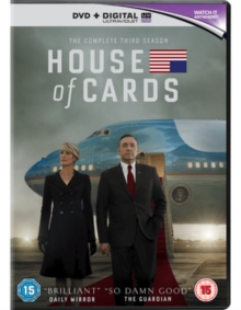 House of Cards: The Complete Third Season, DVD DVD