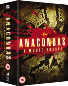 Anaconda 1-4, DVD  DVD