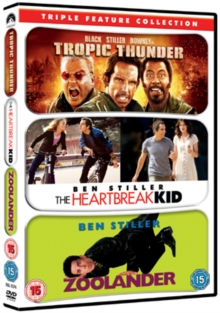 Tropic Thunder/Zoolander/The Heartbreak Kid, DVD  DVD